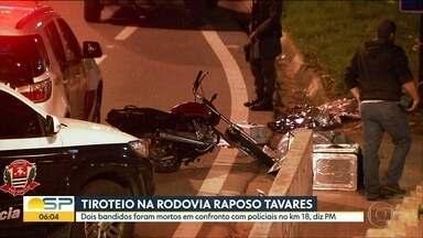Dois suspeitos são mortos pela polícia após perseguição na Raposo Tavares - Caso será investigado pelo DHPP