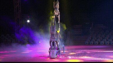 Artistas de circo falam sobre a rotina de ensaios para o espetáculo sair perfeito - Zuila David foi conhecer de perto como é essa rotina.
