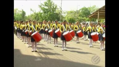 Veja como foi o desfile cívico-militar de 7 de setembro no interior do estado - Desfiles de 7 de setembro.