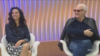 Cláudia Ohana e Ney Latorraca falam sobre o espetáculo 'Vamp, O Musical' - Cláudia Ohana e Ney Latorraca falam sobre o espetáculo 'Vamp, O Musical'