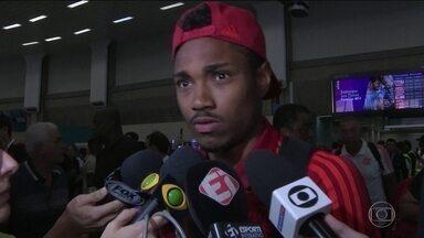 Jogadores do Flamengo comentam pressão e má fase do rubro-negro - Jogadores do Flamengo comentam pressão e má fase do rubro-negro
