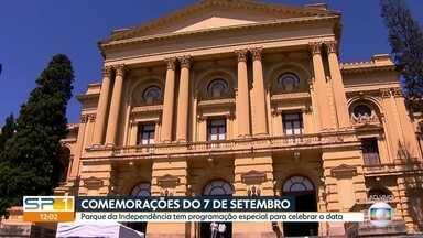 SP1 - Edição de sexta-feira, 7/9/18 - Museu do Ipiranga tem atividades do lado de fora para celebrar a dia da Independência do Brasil. Pesquisa Datafolha mostra intenção de voto para o governo de São Paulo. Abre ao público a Bienal de Artes de SP.