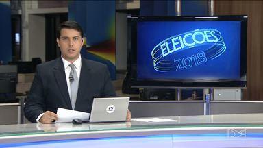 Confira como foi o dia dos candidatos ao governo do Maranhão - Candidatos fizeram gravações de programas eleitorais, passeatas e encontros com lideranças.