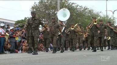 População comparece ao desfile de 7 de setembro em São Luís - Muitas famílias foram acompanhar o desfile em homenagem ao Dia da Independência do Brasil.