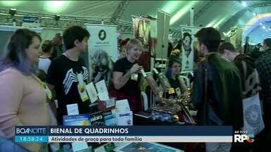 Bienal de Quadrinhos vai até domingo em Curitiba - As atividades do evento são gratuitas.