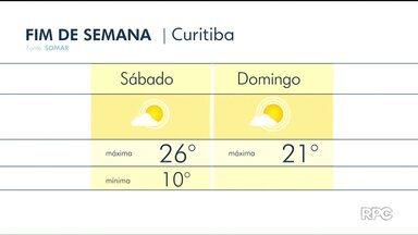 Fim de semana com Sol e tempo seco em todo Paraná - Em Curitiba, termômetros devem marcar 21° C no domingo (09).