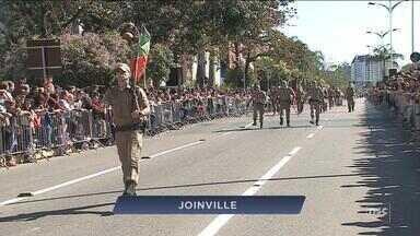 Veja imagens dos desfiles de 7 de Setembro em Santa Catarina - Veja imagens dos desfiles de 7 de Setembro em Santa Catarina