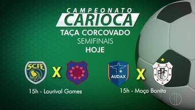 Sampaio Correa e Americano entram em campo neste sábado pela semi final da Taça Corcovado - Assista a seguir.