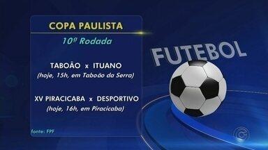 Duas equipes da região jogam neste sábado pela Copa Paulista - Ituano e Desportivo Brasil ainda tem chances de classificação para a próxima fase