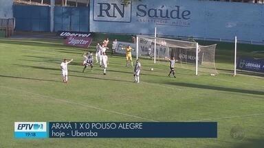 Times do Sul de MG sofrem derrota na Segundona do Mineiro - Times do Sul de MG sofrem derrota na Segundona do Mineiro