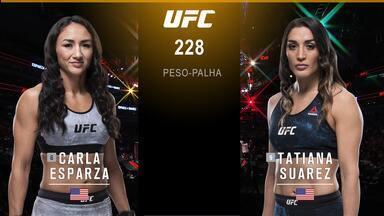 Carla Esparza x Tatiana Suarez