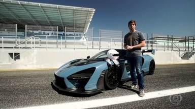 Veja como anda o superesportivo que leva o nome de Senna - Veja como anda o superesportivo que leva o nome de Senna