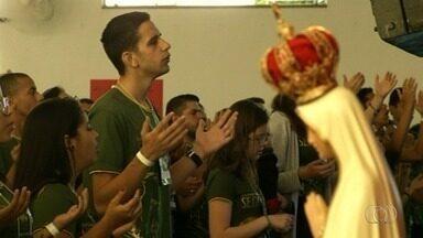 Congresso Eucarístico da Diocese de Anápolis reúne jovens católicos de 18 cidades - Evento foi realizado neste fim de semana.