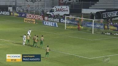 Ponte Preta empata com Sampaio Corrêa pela Série B do Brasileiro, no Moisés Lucarelli - Macaca insistiu, desperdiçou pênalti, mas não fez gols.