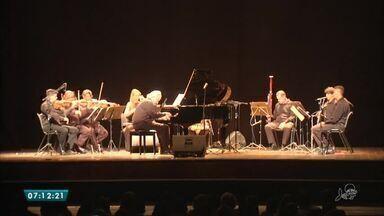 Orquestra de São Paulo se apresenta no Cineteatro São Luiz - Saiba mais em g1.com.br/ce