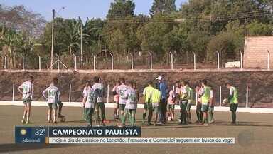 Comercial-SP e Francana se enfrentam na busca pela classificação na Segundona - Veterana tem situação delicada na competição.