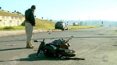 Fim de semana foi marcado pela violência no trânsito no RS - Foi registrado 27 mortes em acidentes no trânsito neste fim de semana.