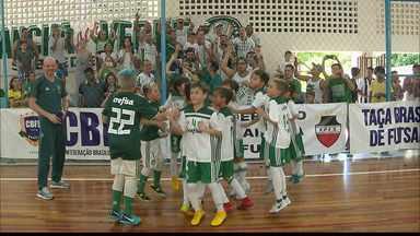 Festa do Verdão: Palmeiras conquista o título da Taça Brasil de Futsal Sub-9 - Alviverde paulista bateu o Fluminense na final e ficou com o título em João Pessoa