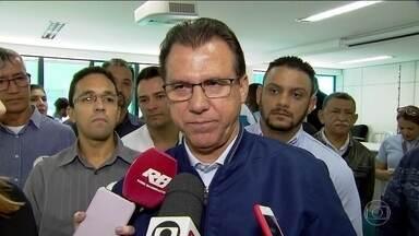 Luiz Marinho faz campanha em São Caetano do Sul - O candidato Luiz Marinho, do PT, foi a São Caetano do Sul, no ABC e se encontrou mais uma vez com metalúrgicos.