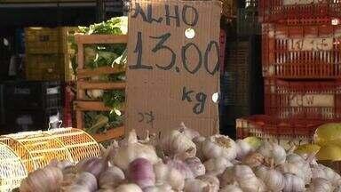 Aumento do frete deixa preços na Ceasa mais caros - Confira mais notícias em g1.globo.com/ce