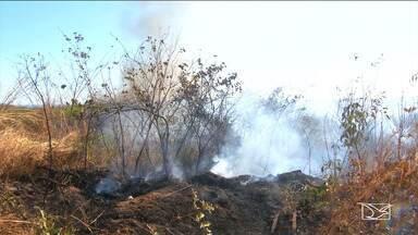 Maranhão já supera seis mil focos de queimadas no ano - As condições climáticas influenciam nos incêndios, que só devem diminuir com a chegada do período das chuvas.