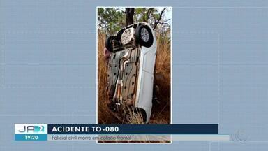 Escrivão da Polícia Civil morre em acidente na TO-080 - Escrivão da Polícia Civil morre em acidente na TO-080