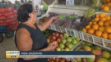 Conheça os benefícios que as frutas trazem à saúde - Pesquisas revelam que a população brasileira não consome o suficiente.