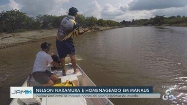 Nelson Nakamura é homenageado com o título de cidadão do Amazonas - Homenageado batalhou pela divulgação do Amazonas no esporte da pesca esportiva