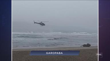 Giro de notícias: Corpo de pescador desaparecido no mar é encontrado em praia de Garopaba - Giro de notícias: Corpo de pescador desaparecido no mar é encontrado em praia de Garopaba
