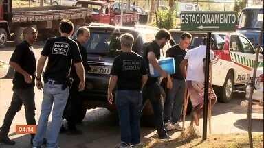 Presos integrantes de quadrilha especializada em roubo de carga em GO e no DF - Segundo a polícia, os bandidos tinham informações de dentro das empresas de transporte.