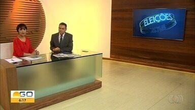 Confira a agenda dos candidatos ao Governo de Goiás nesta quinta-feira (13) - Sete políticos disputam o pleito.