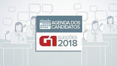 Veja a agenda dos candidatos ao governo da Paraíba nesta quinta-feira (13) - Agenda dos candidatos eleições 2018.