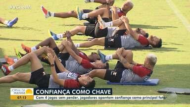Vitória: jogadores apontam confiança como principal fator da boa campanha - Veja os destaques do rubro negro baiano.