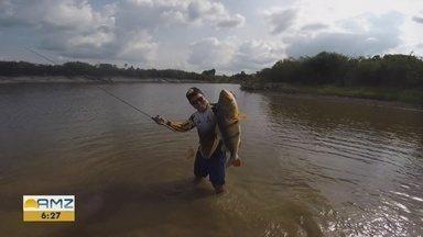 Em Manaus, fim de semana terá torneio de pesca - 70 equipes devem participar do evento.