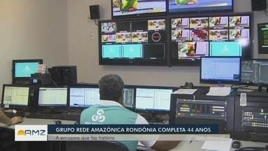 Grupo Rede Amazônica completa 44 anos em Rondônia - Emissora faz parte da história do estado.