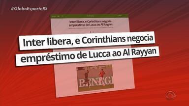Atacante Luca, do Inter, está de saída do clube gaúcho - Luca está sendo emprestado para o Al Rayyan, do Qatar.