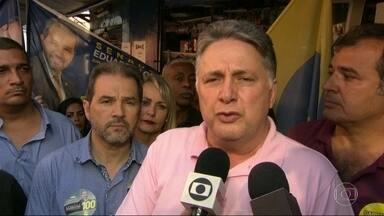 Garotinho faz campanha em Botafogo - Candidato do PRP, Garotinho esteve em Botafogo, Zona Sul do Rio.