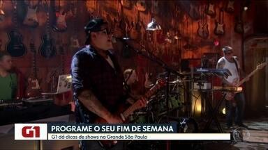 Os shows que vão rolar no fim de semana na Grande SP - Opções transitam entre samba, rock, reggae e ainda tem novidade no rap brasileiro