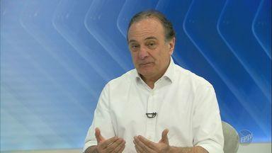 Eleições 2018: Bom Dia Cidade entrevista Ricardo Tripoli, candidato ao senado pelo PSDB - Confira a entrevista.