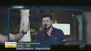 'Em Cartaz': Confira as dicas de shows que vão agitar a região do fim de semana - Em Jaguariúna (SP), Gustavo Lima faz show, nesta-sexta feira (14)