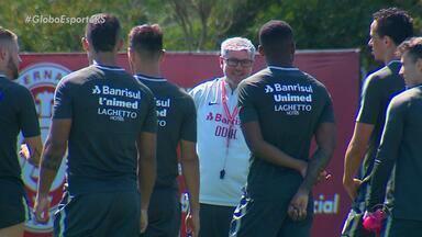 Odair Hellmann é um dos principais responsáveis pela atual fase do Inter - Confira a entrevista com o treinador colorado.