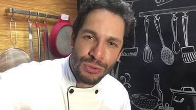 'Na despensa': Dia 20 por Rainer Cadete - Confira depoimento do ator sobre sua participação no 'Super Chef Celebridades'