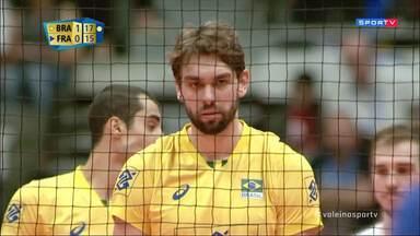 Mundial Masculino de Vôlei - Brasil x França
