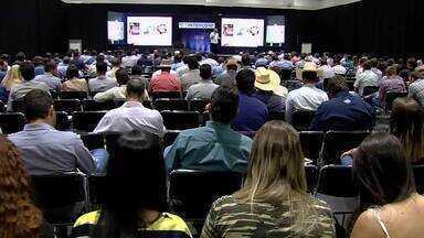 Goiânia sedia conferência internacional de pecuaristas - Bem-estar animal foi um dos temas debatidos na conferência.