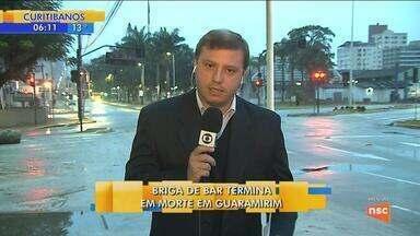 Homem é morto pela polícia em Guaramirim - Homem é morto pela polícia em Guaramirim