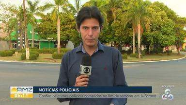 Catador de materiais recicláveis é vítima de tentativa de homicídio - Notícias policiais do fim de semana, em Rondônia.