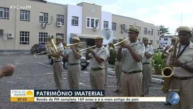 Banda da PM completa 169 anos e é a mais antiga do país - A banda que é patrimônio imaterial da Bahia completa 169 anos nesta segunda-feira (17).