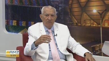 Médico do AM recebe título de ícone biogerontologista do Brasil - Euler Ribeiro fala da pesquisa que o fez levar o reconhecimento.