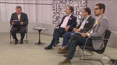 CBN Diário promove debate entre os candidatos ao governo de SC - CBN Diário promove debate entre os candidatos ao governo de SC