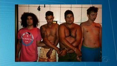 Suspeitos são presos com mais de 100 quilos de maconha no Pinheiro - Quatro pessoas foram presas neste fim de semana.